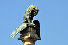Lion Smashes The Eagle Rotunda...