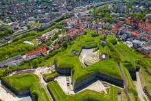 Klodzko Fortress - Aerial View. Klodzko, Lower Silesia, Poland.