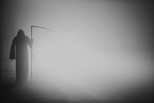 Death Grim Reaper Skeleton Wea...