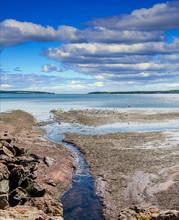 Rocky Tidal Pools On The Coast...