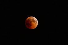 Blood Moon, Lunar Eclipse, Dark Sky, Turkey