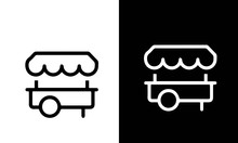 Restaurant And Food Line Icon...