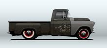 Pickup Truck, Rat Rod. Vector ...