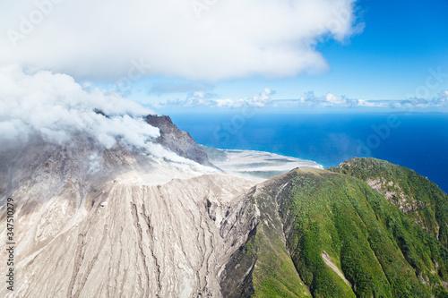 Foto Soufriere Hills Volcano, Montserrat
