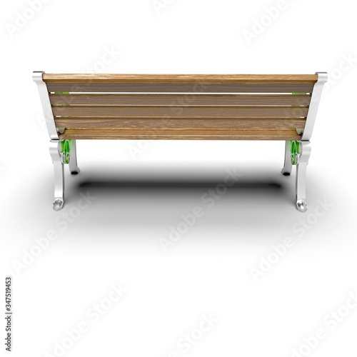 фотография 3d image of aluminum bench Hephaestus 10
