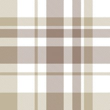 Brown Plaid Tartan Seamless Pa...