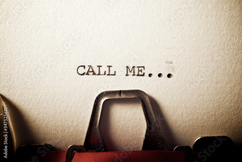 Call me text