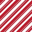 Red Stripe seamless pattern background in diagonal style
