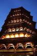 Leinwanddruck Bild - Hangzhou - Pagode Leifeng