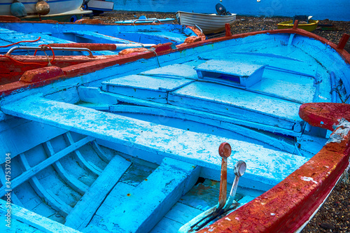 Close-up Of Fishing Boats Fototapet