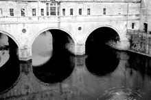 Arch Bridge Over Water
