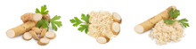 Horseradish Root With Slices A...