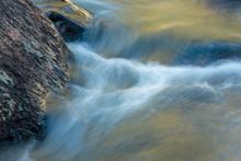 Glacier Creek Rushes Alongside...