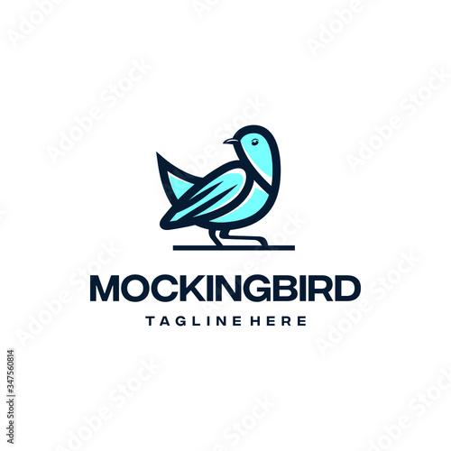 Photo Mockingbird logo design