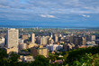 aerial view of montreal