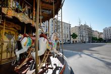 Carousel Horse Ride On Street