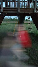 Blurred Motion Of Outdoor Play...