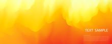 Abstract Pastel Orange Gradien...