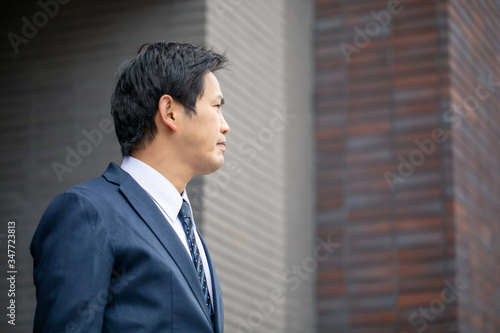 Fotografiet カジュアルビジネスの会社員