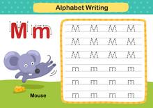 Alphabet Letter M-Mouse Exerci...