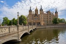 Bridge To The Schwerin Castle ...