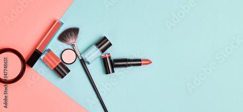 Fotomural Beauty cosmetic makeup set