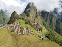 Mountains At Machu Picchu