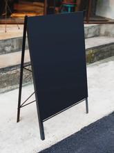 Mock Up Menu Blank Blackboard ...