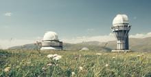 Kazakhstan Assa-Turgen Observatory In Spring