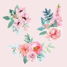 Floral Charming Bouquet Design...