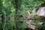 Fototapeta Kamienie - Edge balance