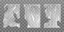 Old Cellophane Stretch Film Wi...