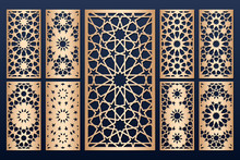 Laser Cut Panel Template Set W...