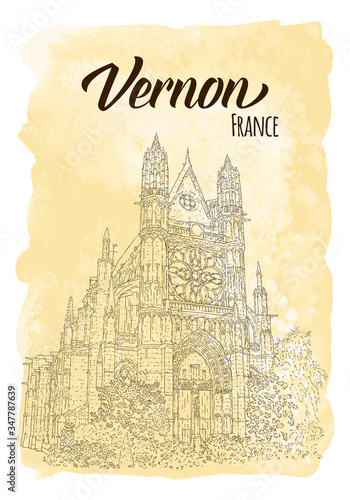 Fotografie, Tablou Tourism concept card
