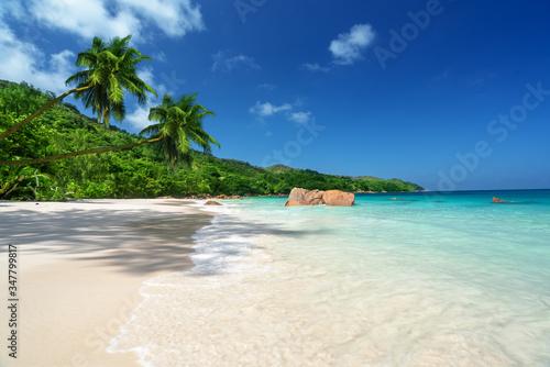 Fotobehang - Anse Lazio beach at Praslin island, Seychelles