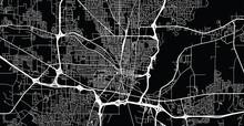 Urban Vector City Map Of Jacks...