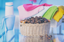 Basket Full Of Soap Nuts