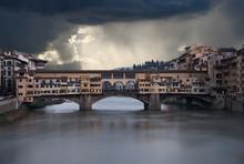 Ponte Vecchio A Firenze Ripres...