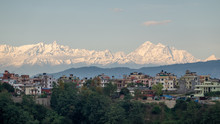 The Himalaya Mountains At Suns...