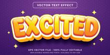 Editable Text Effect - Excitem...