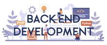 Back End Development Typograph...