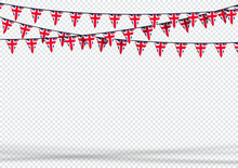 Bunting Hanging Banner UK Brit...