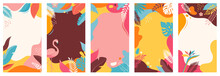 Collection Of Abstract Backgro...
