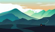 Landscape Mountain House