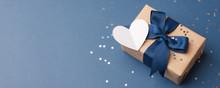 Blue Theme Craft Gift Box Pres...