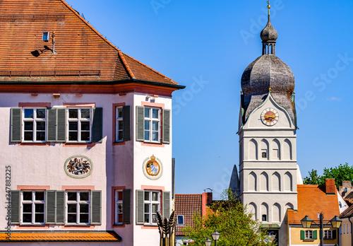 famous old town of erding - bavaria