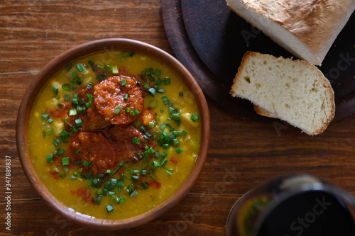 Locro a typical Argentine food Canvas Print