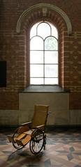 Fototapeta na wymiar Church at Merksplas Colony. Wortel Colony. Belgium.