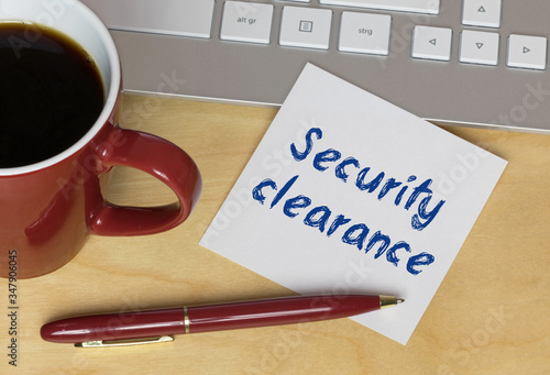 Photo Security clearance
