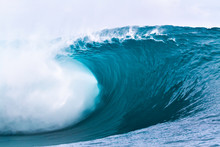 Heavy Wave In Papeete Tahiti